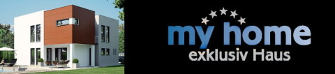 my home exklusiv haus, logo