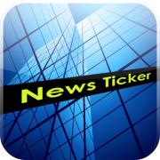 newsticker, logo